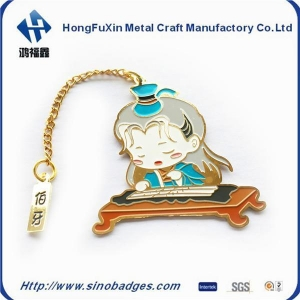China Funny Enamel 3D Custom Magnetic Bookmark on sale