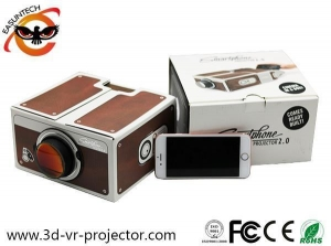 China Hot Sale High Quality Paper DIY Projector For Mobile Phone on sale