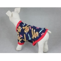 Pet Christmas Pullover Embroidered Sweater Coat JHB016