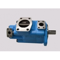 Variable Vane Pump For Rubber , Double Hydraulic Pump Vickers 3520VQ-25A-5-1-CC-20R