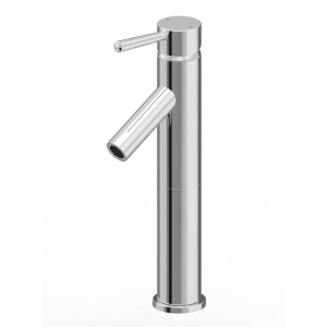 China Contemporary Single Hole Bathroom Lavatory Chrome Faucet on sale