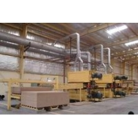 China 20000m3/year wood particle board and chip board making line on sale