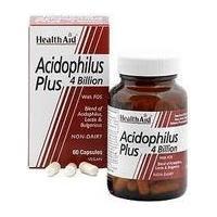 Health Aid Acidophilus Plus 4 Billion (60)