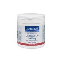 Lamberts Cod Liver Oil 1000mg 180 Tablets