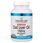 China Natures Aid Cod Liver Oil 1000mg Better than half price! 90 Caps on sale