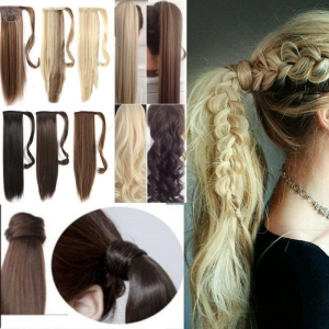 China Hair Extension Pony tails Hair on sale