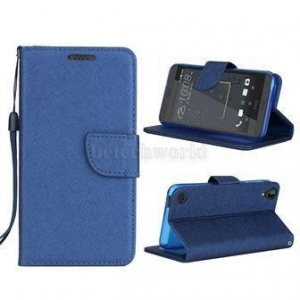 China HTC Desire 530 Best Leather Wallet Cell Phone Covers Of HTC 530 Mobile Phone With Card Slots on sale