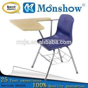China 2014 Plastic Arm Chair With A P-tablet Writing Top on sale