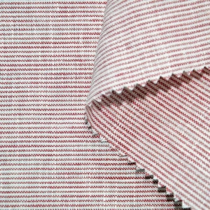China Linen Yarn Dyed Woven Fabric on sale