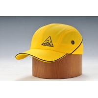 China Yellow Stretch-fit Cap With Printing on sale