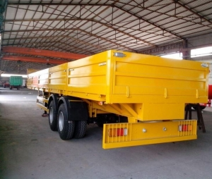 China 30t Side Wall Semi Trailer with 2 Axles for Cargo Transportation Manufacturers - Price - WEIHUA on sale