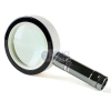 China Metal 10 X Best Magnifying Glass for Reading with Dual Lens for sale