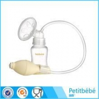 China Petitbebe Portable Handaspirated Type Silicone Pump Adult Baby Milk Manual Breast Pump on sale