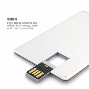 China Hot Sell Custom Credit Card USB Flash Drive on sale