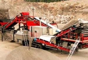 China Tracked Mobile Screening Plant Introduction on sale