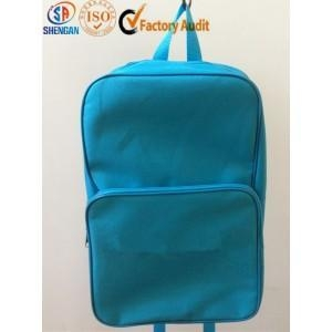 China sky blue children school bag for charity on sale