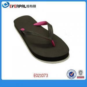 China New Flip Flops Double Color strap Flip Flops Shoes on sale