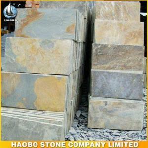 China Rusty Yellow Slate Tiles on sale