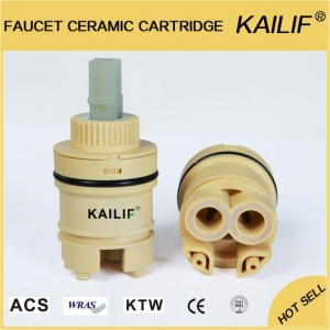 China 35mm Bathroom Low Torque Ceramic Cartridge with Copper Pieces on sale