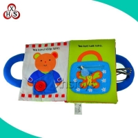 China Baby Soft Cloth Book Baby Educational Toy Cloth Book on sale