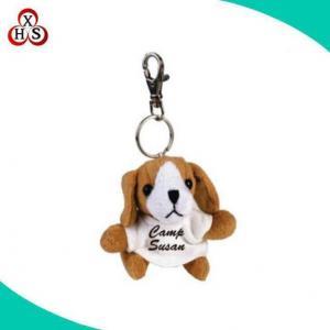 China Hot Sale Huskey Dog Keychain Plush Huskie Dog Keychain in High Quality on sale