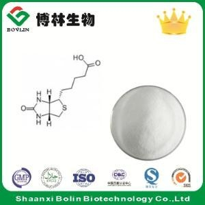 China Nutrition Additives Pure Biotin Powder for Biotin Supplement on sale