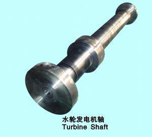 China Alloy Steel Forged Turbine Shaft Custom OEM Forged Steel Shaft on sale