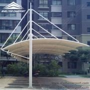 China Car Shed with Metal Framework and Fabric Top on sale