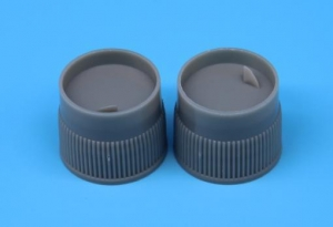 China Plastic Stripe universal bottle cap 20mm on sale