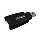 China External Card Reader [HRU-822AL] - USB 2.0 External SD/MS/xD Card Reader on sale