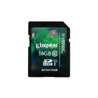 Kingston 16GB 16G Class 10 HD Video SD SDHC Flash Memory Card