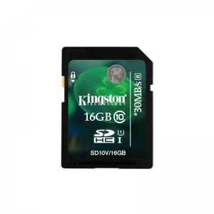 China Kingston 16GB 16G Class 10 HD Video SD SDHC Flash Memory Card on sale