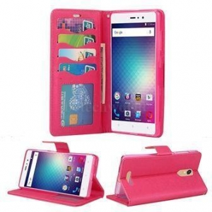 China BIAOTAI BLU VIVO 5R Wallet Style Cheap Cell Phone Covers With Magic Magnet And Card Slots on sale