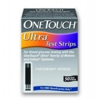 Diabetic Supplies TEST STRIP, BLD GLUC ONE TOUCHULTRA (50/BX)