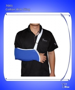 China Comfortable Cotton Broken Post OP Shouler Arm Sling with Forearm Strap Adjustable Brace on sale