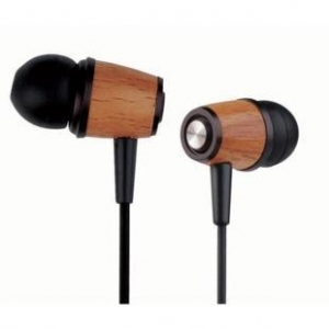 China New Style stereo wood headphone cool in-ear on sale