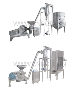 China JB-Series Cyclong-separating Pulse Dust Collecting Crushing Set on sale