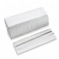 White C-Fold Towels, 100% recycled paper, 2400/case
