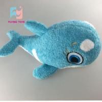 China Yellow Dolphin Plush Animal Toys on sale