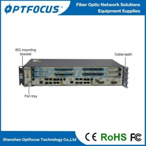 China GPON or EPON OLT Passive Optical Line Network Terminal original 19'inch Mini MA5608T on sale