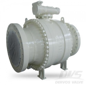 China Ball Valve Cast Steel Trunnion Mounted Ball Valve,36 Inch CL600 RF WCB on sale