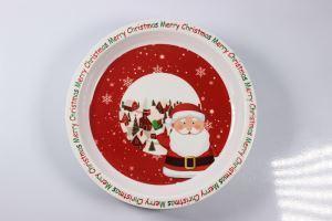 China Food Grade Safe Plastic Bio Bamboo Fiber Children's Melamine Plates Personalized on sale