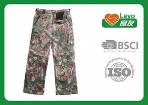 China Outdoor Womens Fashion Camo Pants , Army Camo Pants For Women on sale