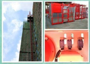 China Electric Construction Hoist Elevator PLC Control System For Building Site on sale