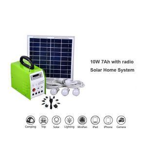 China TSL6-7Q 6W 7Ah Portable Solar Home System on sale