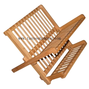 China Kitchen eco-friendly bamboo bowl holder / plate holder on sale