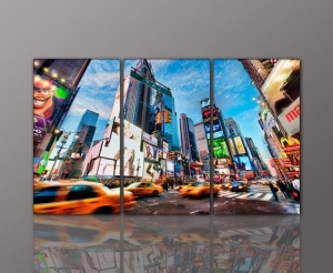China New York City Black White Picture Custom Canvas art Print Reproduction on sale