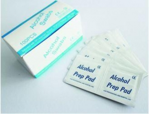 China 2ply Ethanol 70 Isopropyl Alcohol Sterile Alcohol Prep Wipes on sale