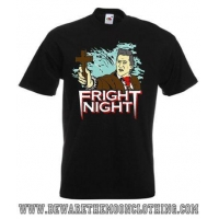 Peter Vincent Fright Night Retro Horror Movie T Shirt / Hoodie