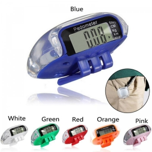 China LCD Multifunction Pedometers Walking Step Counter on sale